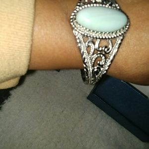Aqua colored Stone bracelet